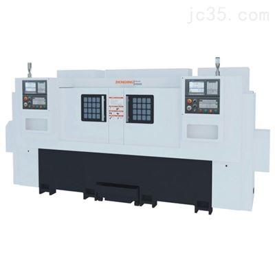 HS450双主轴数控车床加工厂
