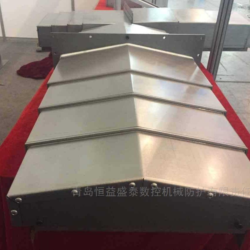 大連850電腦鑼cnc導軌護板XYZ軸鋼板防護罩