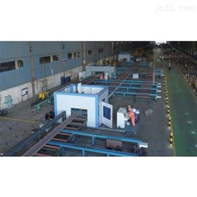 KR-XH数控h型钢切割机 型钢自动下料生产线