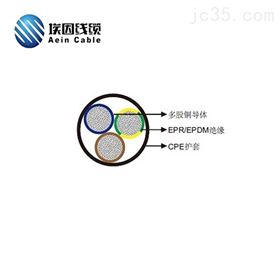 H07BN4-F电缆CE电缆H07BN4-F风力发电1000V抗扭90度电缆