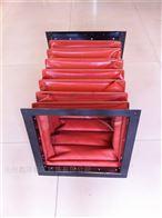 红色硅胶布方形通风软连接什么地方卖?