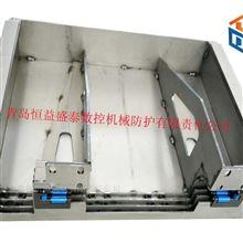 捷甬达数控型材机柔性风琴防护罩