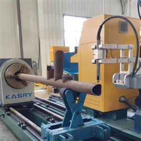 管材切割设备 风电相贯线切割机