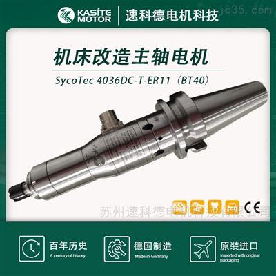 4036DC-T-ER11(BT40)SycoTec機床CNC改造主軸萬能角度側銑方案