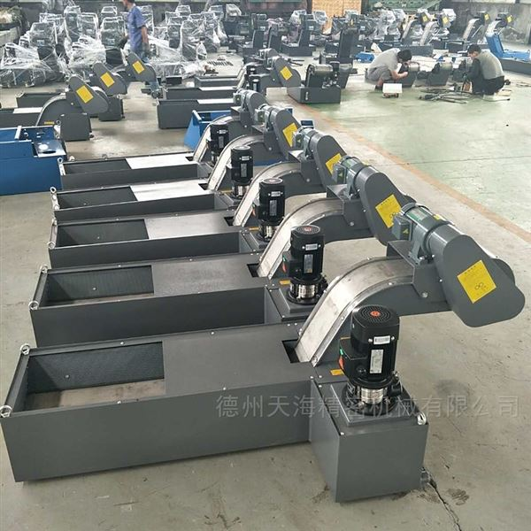 工厂机床设备磁性板式排屑机