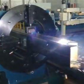 八轴异型管材切割机 山东自动化切割设备