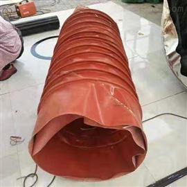 耐高温矩形硅胶通风伸缩软连接新款上市