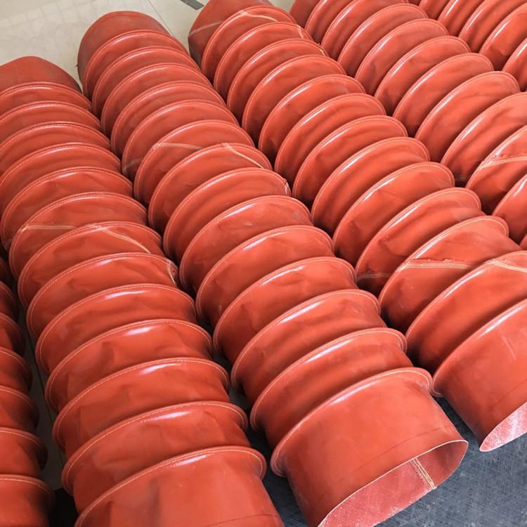 帆布软连接 防火帆布通风管具体防火等级
